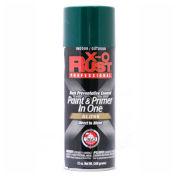 X-O Rust 12 oz. Aerosol Rust Preventative Paint & Primer In One, Hunter Green, Gloss - 125733