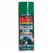 X-O Rust 12 oz. Aerosol Farm & Implement Paint & Primer In One, John Deere Green, Flat - 125805