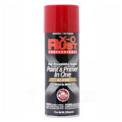 X-O Rust 12 oz. Aerosol Rust Preventative Paint & Primer In One, Fiesta Red, Gloss - 125837