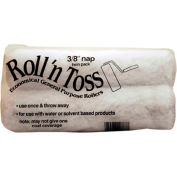 "Master Painter 9"" Roll & Toss Roller Cover, 3/8"" Nap, Knit, Semi Smooth, 2 Pack - 207878"