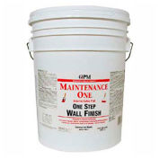 Maintenance One Paint & Primer, One Step Paint, Flat Finish, Contractor White, 5-Gallon - 440610