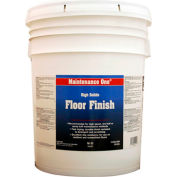 Maintenance One® High Solids Floor Finish, 5 Gallon Pail - 512734