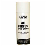 GPM All Purpose Fast Drying Flat Enamel 10 oz. Aerosol Can, White - 542637