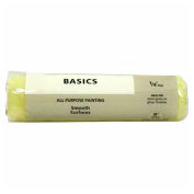 """Master Painter 9"""" Basics Roller Cover, 1/4"""" Nap, Knit, Smooth - 697886"""
