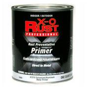 X-O Rust Anti-Rust Enamel, Galvanized & Aluminum Primer, White, Quart - 738856