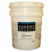 Painter's Select Interior Latex Wall Paint, White, 5-Gallon - 738997