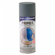 Premium Décor Decorative Enamel Primer 12 oz. Aerosol Can, Gray - 792286