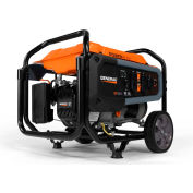 Generac® CARB Portable Generator W/ Recoil Start, Gasoline, 3600 Rated Watts