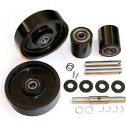 GPS Complete Wheel Kit for Manual Pallet Jack GWK-1043-CK - Fits Specific Uline Models