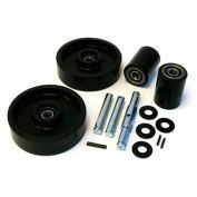 GPS Complete Wheel Kit for Manual Pallet Jack GWK-4YX96-CK - Fits Dayton Model # 4YX97