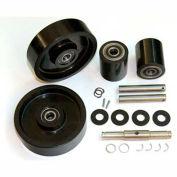 GPS Complete Wheel Kit for Manual Pallet Jack GWK-4YX97-CK - Fits Dayton Model # 4YX97