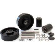 GPS Complete Wheel Kit for Manual Pallet Jack GWK-HP25L-CK - Fits Hu-Lift Model # HP25L (Single)