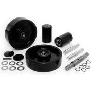 GPS Complete Wheel Kit for Manual Pallet Jack GWK-JTPTX-CK - Fits Jet, Model # PTX