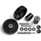 GPS Complete Wheel Kit for Manual Pallet Jack GWK-L50-CK - Fits Lift-Rite (Big Joe) Model # L-50