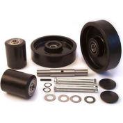 GPS Complete Wheel Kit for Manual Pallet Jack GWK-LCR-CK - Fits Lift Rite Model # Titan Series