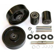 GPS Complete Wheel Kit for Manual Pallet Jack GWK-MLX55-CK - Fits Mobile Model # MLX55