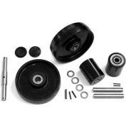GPS Complete Wheel Kit for Manual Pallet Jack GWK-TM-CK - Fits Multiton Model # TM, M & J