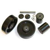 GPS Complete Wheel Kit for Manual Pallet Jack GWK-TM55-CK - Fits Multiton, Model # TM 55