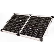80 WATT / 4.4 AMP Portable Solar Charging Kit