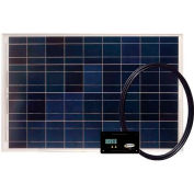80 WATT / 4.6 AMP Solar Kit With Digital PWM Controller