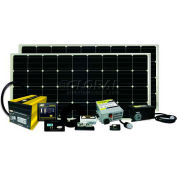 320 WATT/18.28 AMP SOLAR KIT WITH GP-SW2000-12, GP-SWR-B, GP-DC-KIT4, GP-TS