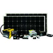 320 WATT/18.28 AMP SOLAR KIT WITH GP-SW2000-12, GP-SWR-B, GP-DC-KIT4, GP-TS