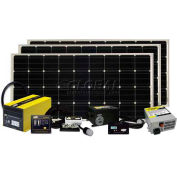 480 WATT/27.42 AMP SOLAR KIT WITH GP-SW3000-12, GP-SWR-B, GP-DC-KIT5, GP-TS