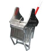 Floor-King® Downward Pressure Zinc Electroplated Metal Mop Wringer - High Security