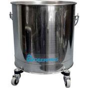 """Geerpres® 8 Gallon Stainless Steel Mop Bucket on 2"""" Casters, Geerpres 2221"""