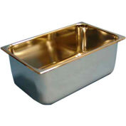 Stainless Steel 29-Quart Bucket - For Cleanrooms