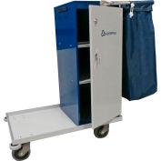 """Geerpres Escort® 3645 Epoxy Coated Housekeeping Cart - 32"""" Long"""
