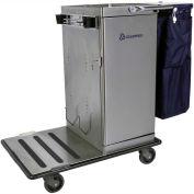 Odyssey™ Stainless Steel Housekeeping Cart