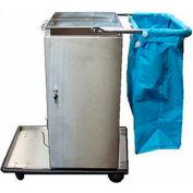 Escort RX™ Stainless Steel Microfiber Housekeeping Cart