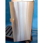 Stainless Steel Door W/ Lock - Self Locking