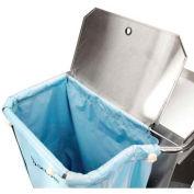 Offset Lid - Escort RX™ Stainless Steel Housekeeping Cart