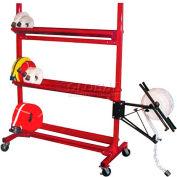 "Ready Racks™ Three-Tier Hose Cart - Holds Up to 2000' of 2-1/2"" Hose"