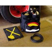 Ready Rack® SCBA Cylinder Rescue Bag SRZ-B - Two 45-60 Minute Large Profile Bottle Inserts