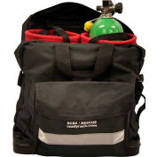 Ready Rack® SCBA Cylinder Rescue Bag SRZ-R - Two 20 Minute Low Profile Bottle Inserts