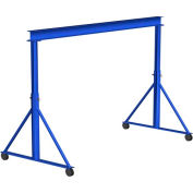 Gorbel® Steel Gantry Crane, 8' Span & 12'-15' Adjustable Height, 2000 Lb. Capacity