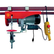Powered Wire Rope Winch 2000 Lb. Capacity for Shop Crane™ Overhead Cranes