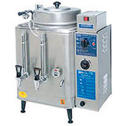 Coffee Urn, Single 3 Gallon, Push Button Agitator