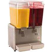 Crathco Cold Beverage Dispenser, Double Bowl - D25-4