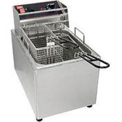 Cecilware EL15 Countertop Electric Fryer-15 lb. Capacity, 120V