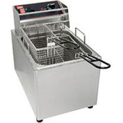 Cecilware EL15 Countertop Electric Fryer-15 lb. Capacity, 120V