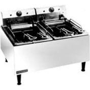 Countertop Medium Duty Electric Fryer- 2  15 lb. Capacity
