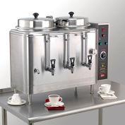 Coffee Urn, Twin 3 Gallon, Automatic Agitator