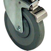 Floor Model Gas Fryer Locking Caster