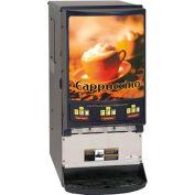 Hot Powdered Beverage Dispenser, Three Flavor, 3 Portions/Head