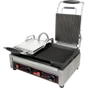 Panini / Sandwich Grill, Double Grooved Surface, 240V