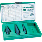 Greenlee® 35884 Bit Kit,Step-#1,#3 & #8.